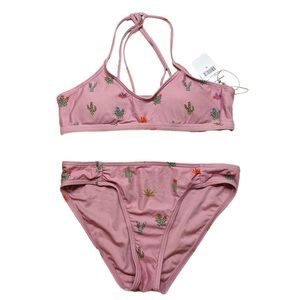 O'Neill Swim - O'Neill Girls Pink Cactus Bikini NWT size 14